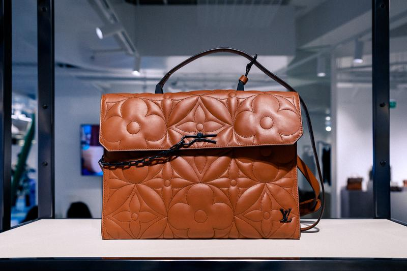 louis vuitton fall winter heaven on earth collection virgil abloh closer look blue wallets sneakers