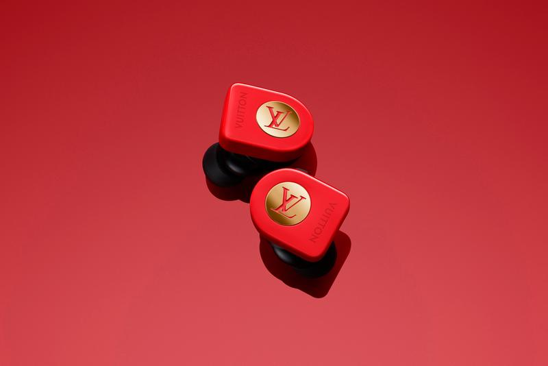 Louis Vuitton Horizon Earphones Monogram Colors Red