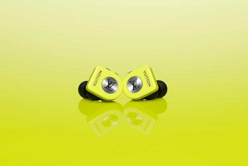 Louis Vuitton Horizon Earphones Monogram Colors Neon Yellow