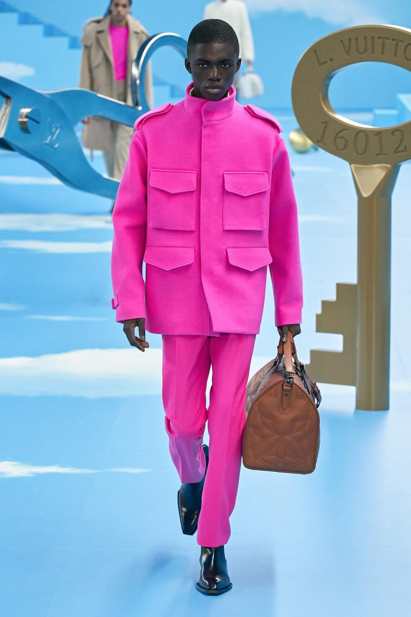 Louis Vuitton Virgil Abloh Fall/Winter 2020 Show Paris Fashion Week Men's Collection