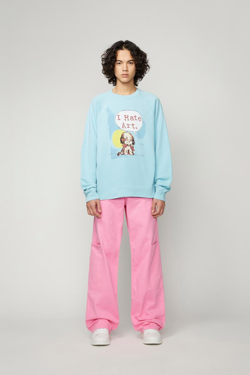 Marc Jacobs x Magda Archer Capsule Collection Harry Styles Dua Lipa Sweatshirt Knit