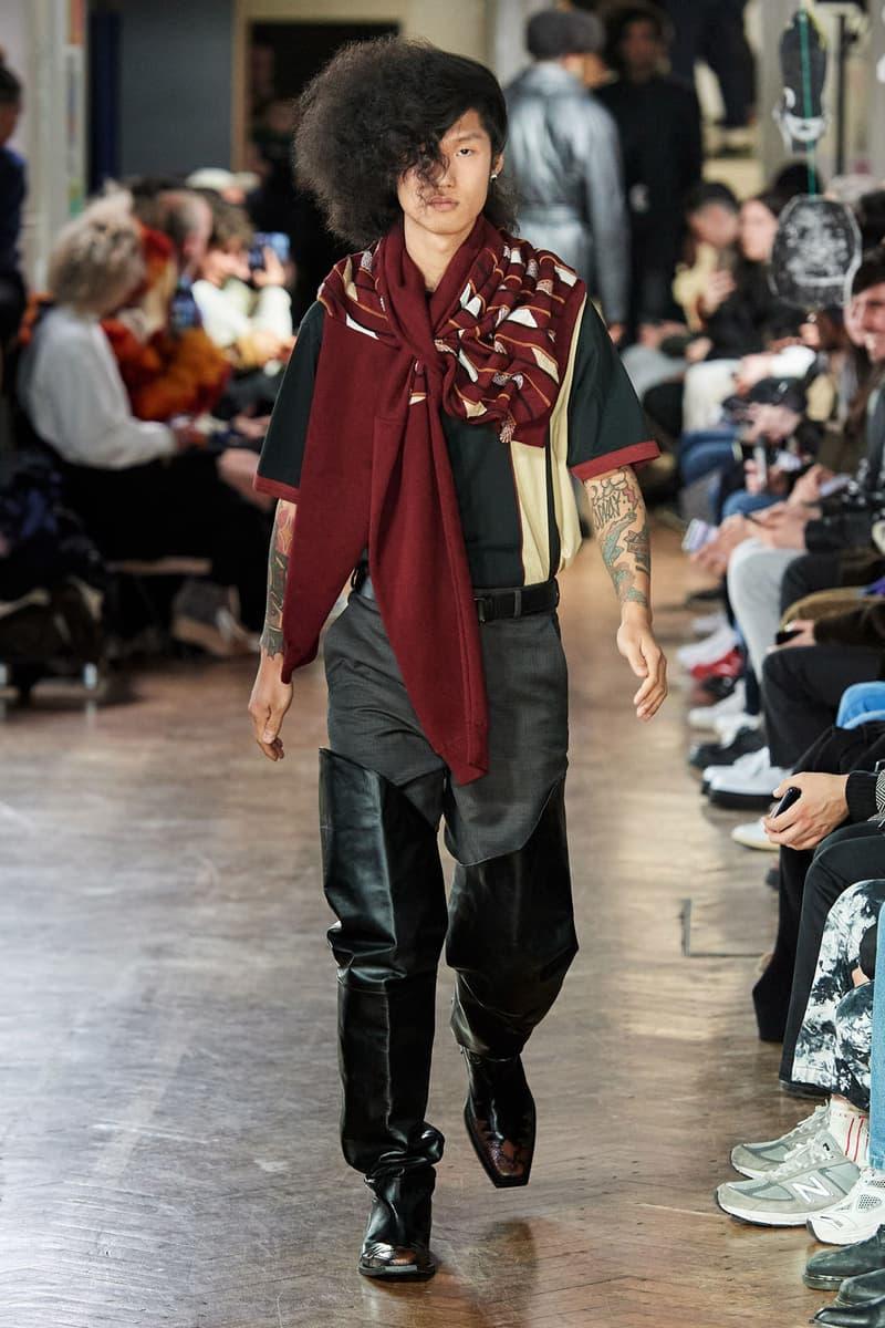martine rose fall winter menswear london fashion week mens lfwm runway
