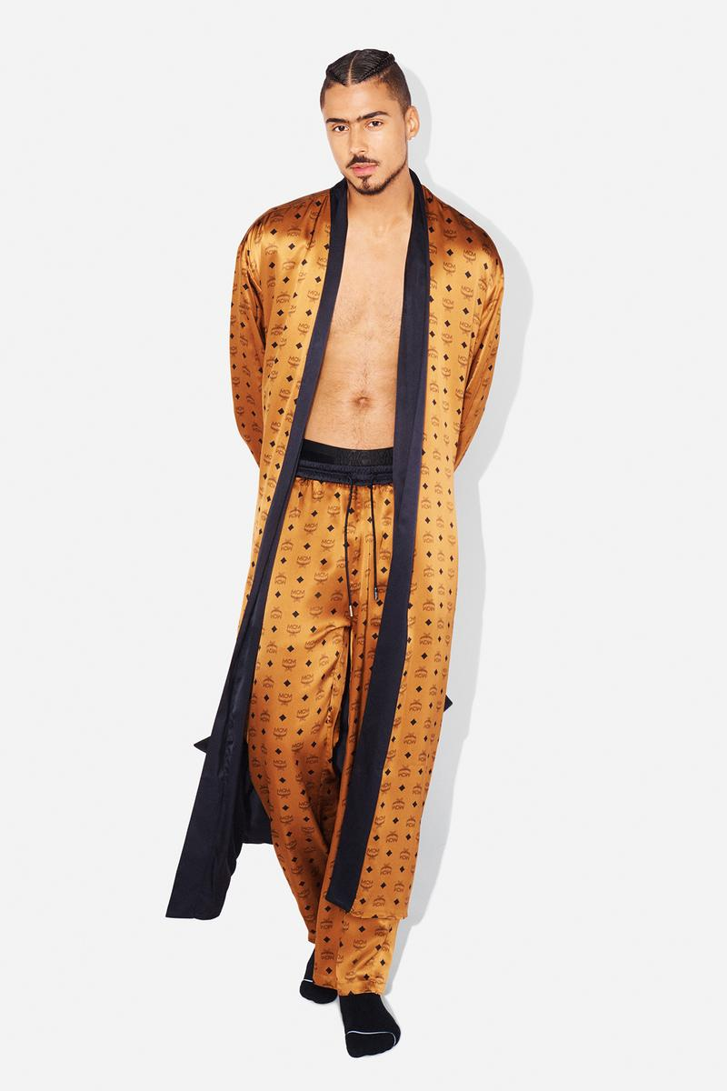 MCM Loungewear Collection Lookbook Robe