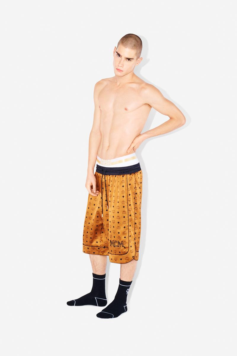 MCM Loungewear Collection Lookbook Shorts