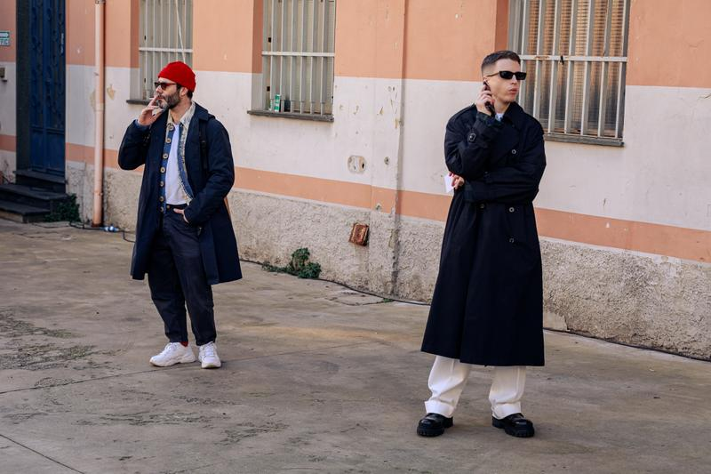 Milan Fashion Week Men's Street Style FW20