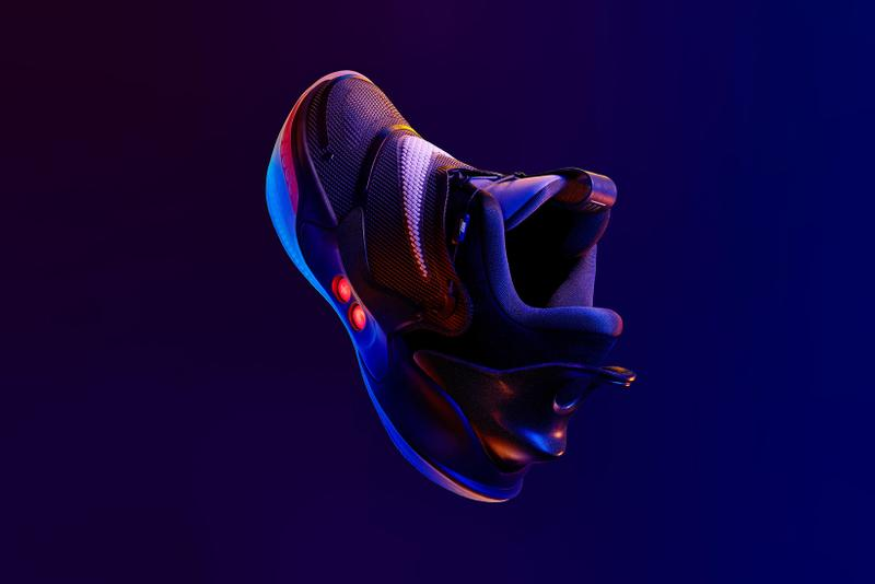 nike adapt bb 2 0 basketball sneakers self lacing tech shoes footwear sneakerhead sports