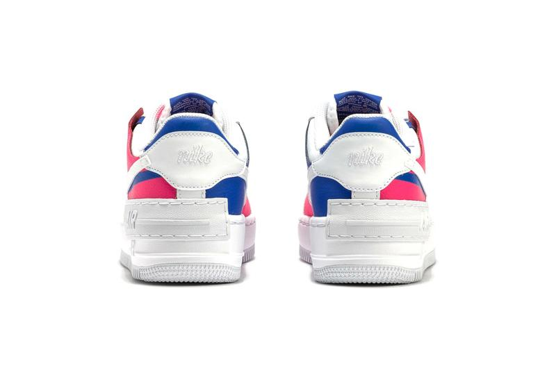 nike air force 1 shadow af-1 white blue pink sneaker footwear swoosh hbx online purchase cop