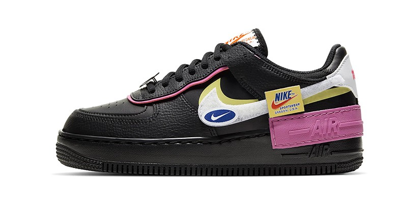 Nike S Black Cosmic Fuchsia Air Force 1 Shadow Hypebae Upgraded for today in new colorways and with elevated materials, the air force 1 '07 brings. nike s black cosmic fuchsia air force