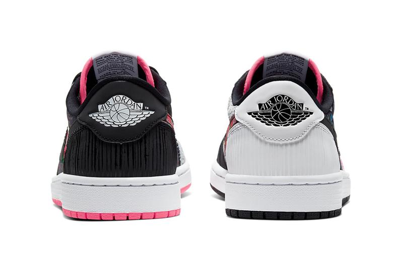 nike air jordan 1 low chinese new year sneakers pink black shoes footwear sneakerhead