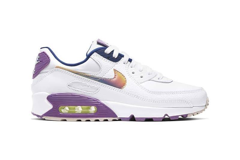 Nike Air Max 90 Se Easter White Purple Nebula Hypebae