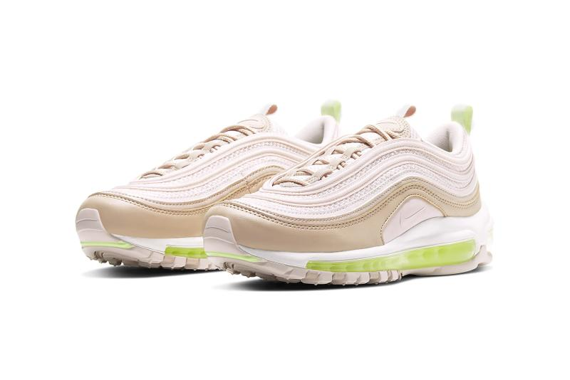air max 97 pink and lime green