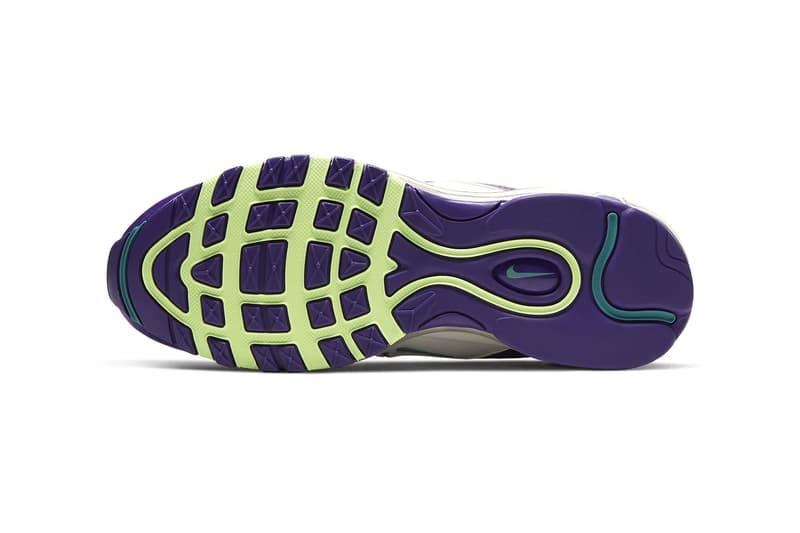 nike air max 97 womens sneakers purple blue white shoes footwear sneakerhead