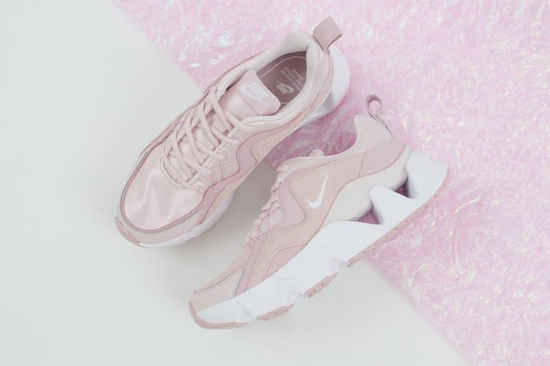 nike ryz 365 chunky sneakers pastel pink mint womens sneakers