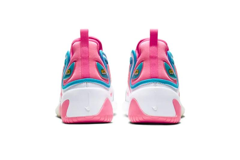 nike valentines day exclusive zoom 2k sneakers pink blue white womens love retro inspired vibrant air sole footwear