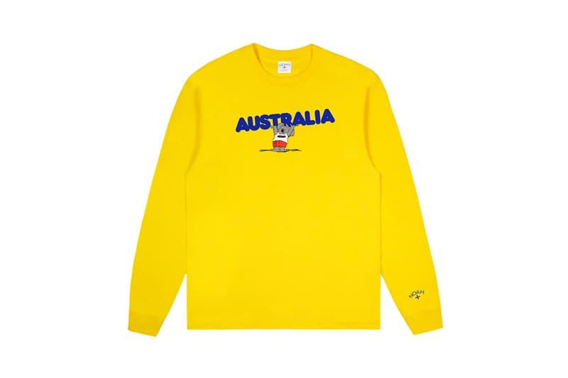 noah australia fire bushfire benefit charity tees koalas