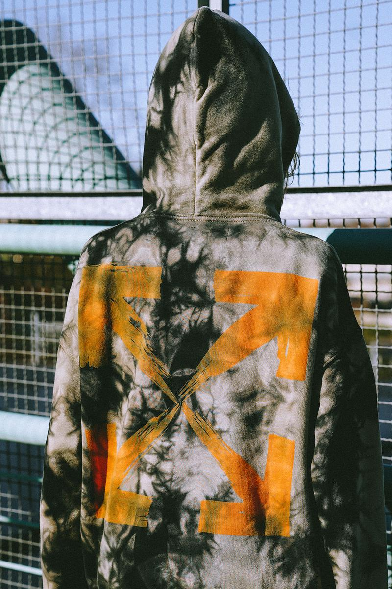 "Off White ""Bangkok"" Capsule Collection Tie Dye Hoodie"