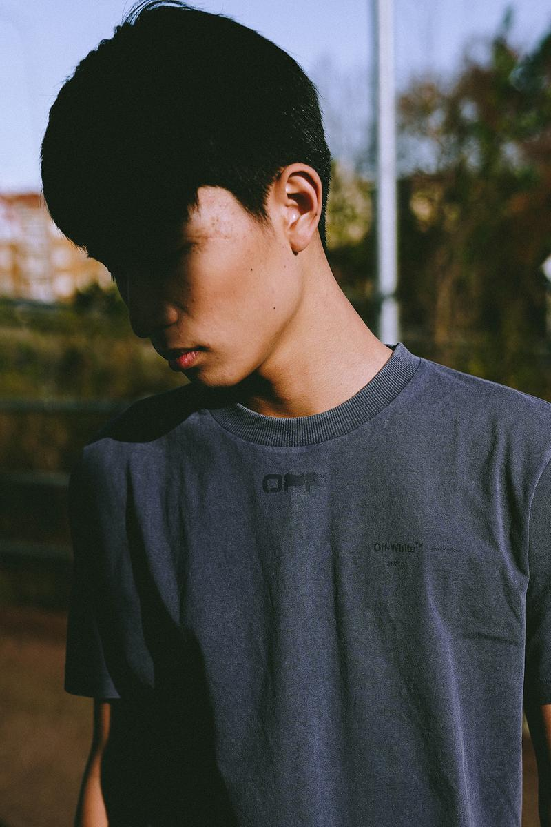 "Off White ""Bangkok"" Capsule Collection T-Shirt Navy"