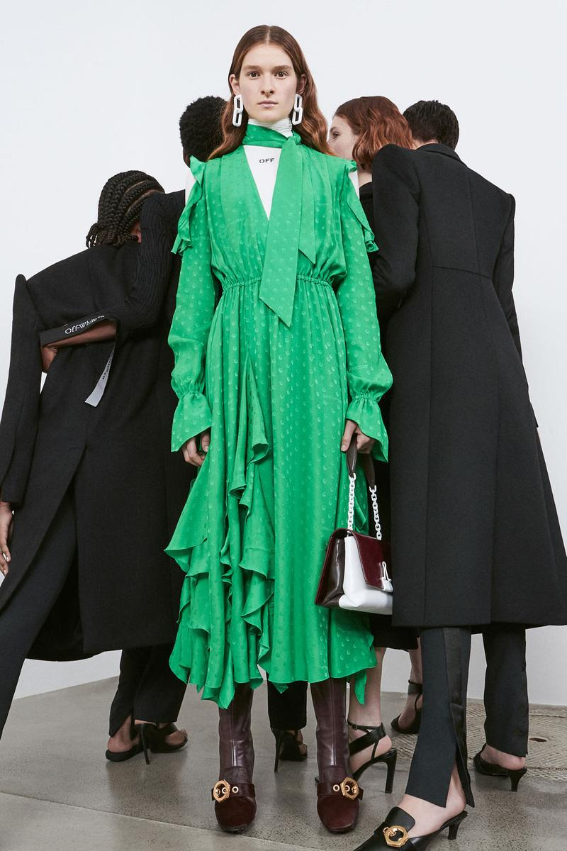 off-white virgil abloh pre-fall collection womenswear jackets suits coats