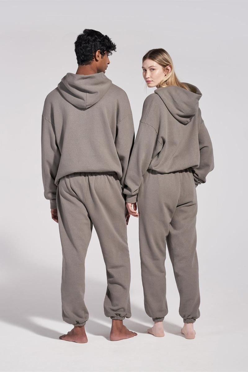 pangaia hoodies tracksuit trackpant winter white black grey sustainable recycle fashion