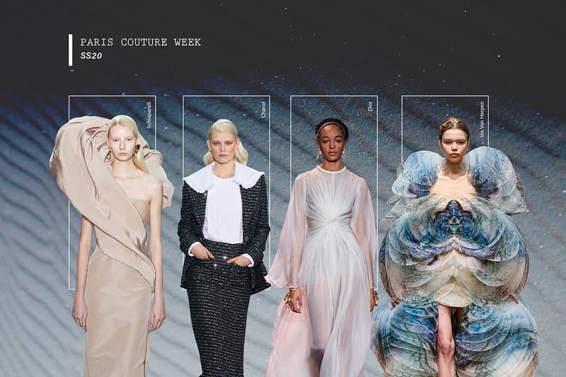 Paris Haute Couture Fashion Week SS20 Schiaparelli Chanel Dior Iris van Herpen