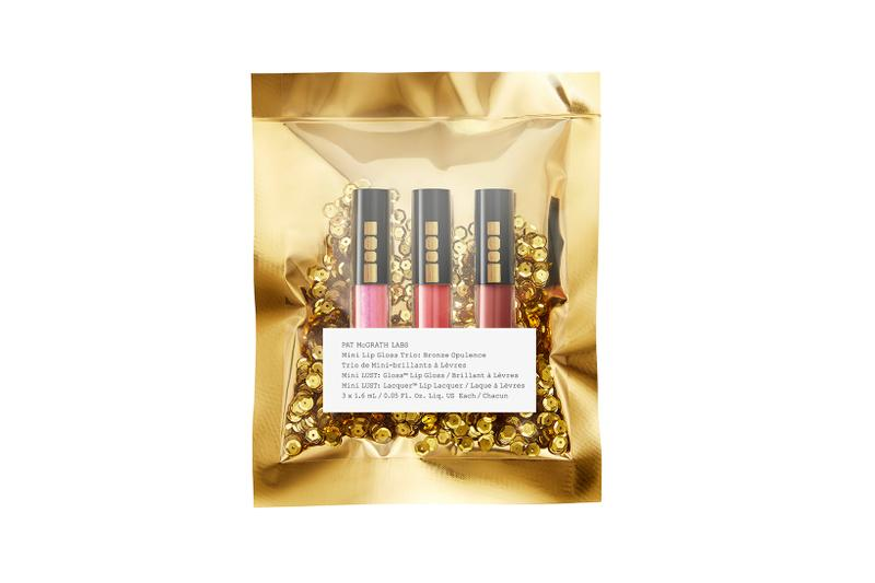 Pat McGrath Labs Golden Opulence Collection Bronze Lip Gloss Trio Mini Lunar New Year