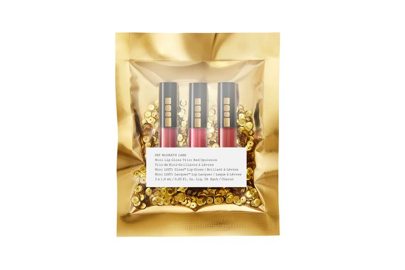 Pat McGrath Labs Golden Opulence Collection Bronze Red Gloss Trio Mini Lunar New Year