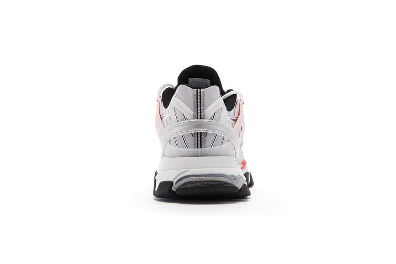 reebok dmx trail shadow premier pack red black blue yellow sneakers
