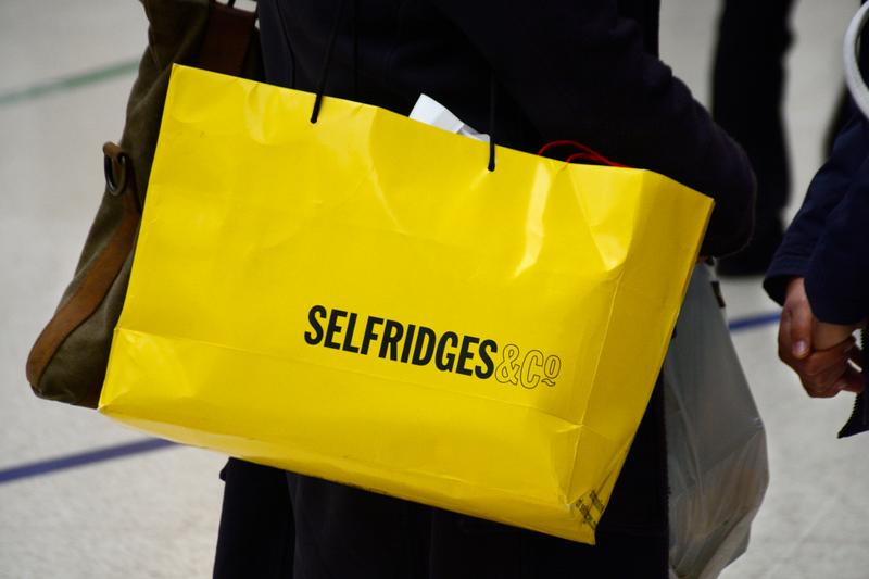 selfridges plastic based cosmetic glitter 2021 brands retailer department store sustainability eco friendly pollution statistics
