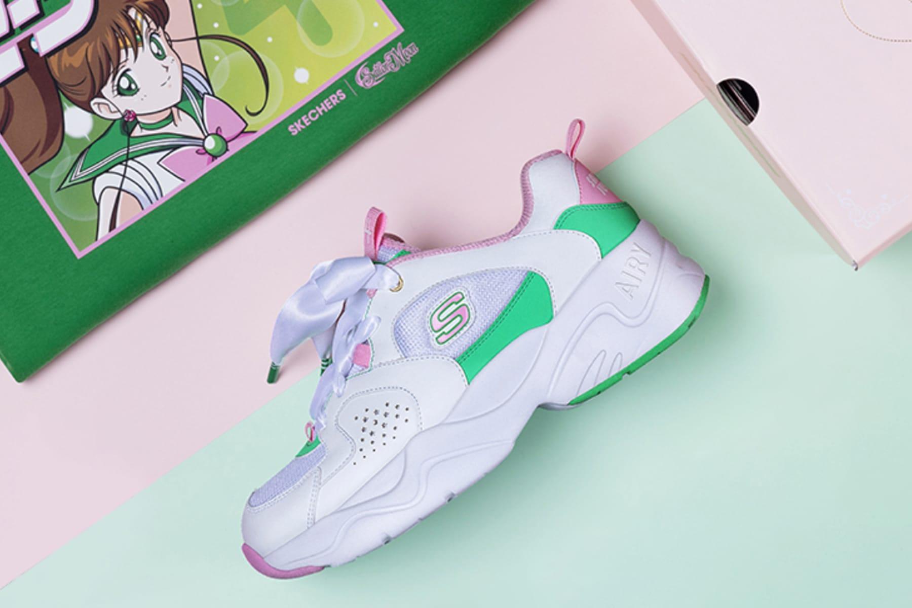 Sailor Moon x Skechers Sneaker
