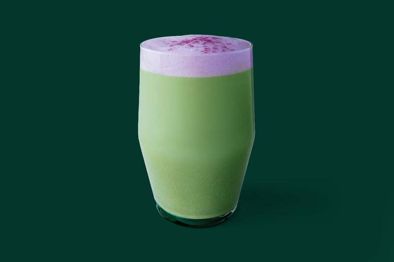Starbucks Floaty Purple Sesame Taro Matcha Latte Winter 2020 Drinks