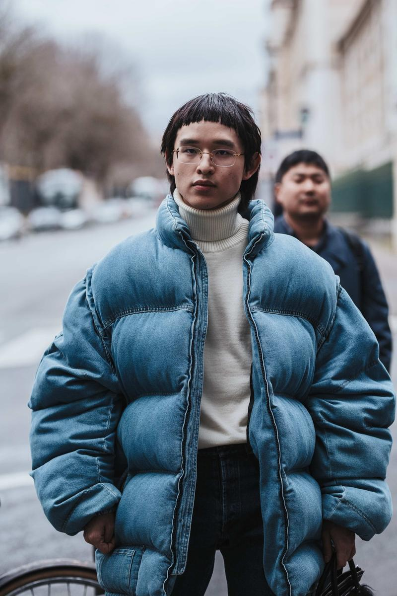 paris fashion week street style fall winter 2020 fw20 celebrity industry leaders kenzo off-white nike sacai givenchy louis vuitton influencers valentino air jordan 1 tyga luka sabbat amber rose