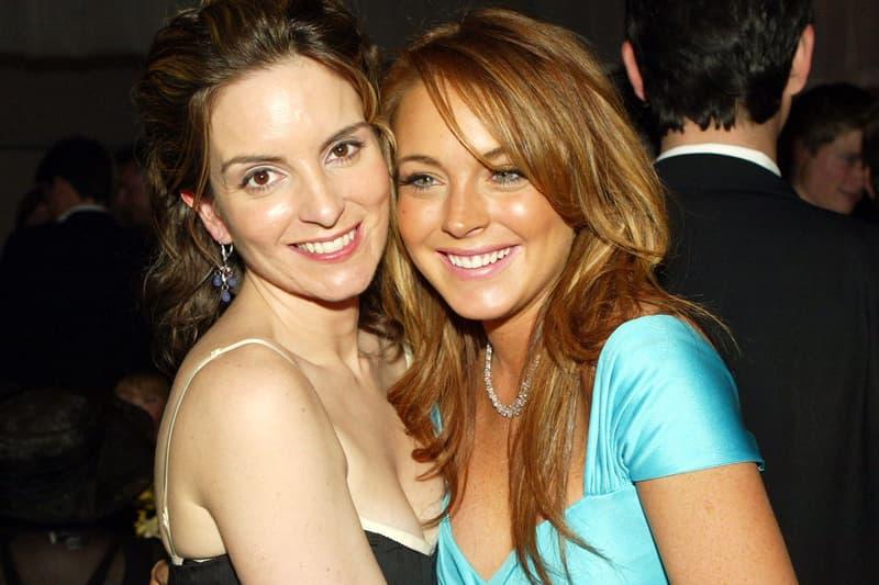 Mean Girls Cast Lindsay Lohan Tina Fey