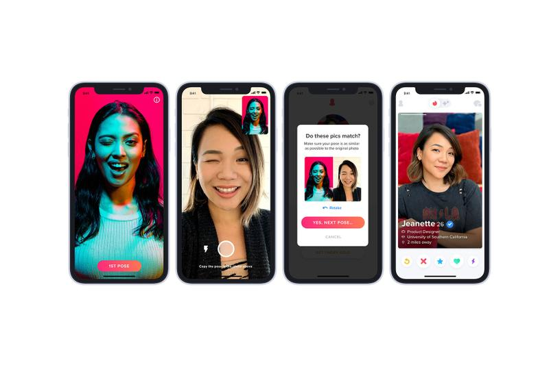Tinder Safety Features 2020 Photo Verification