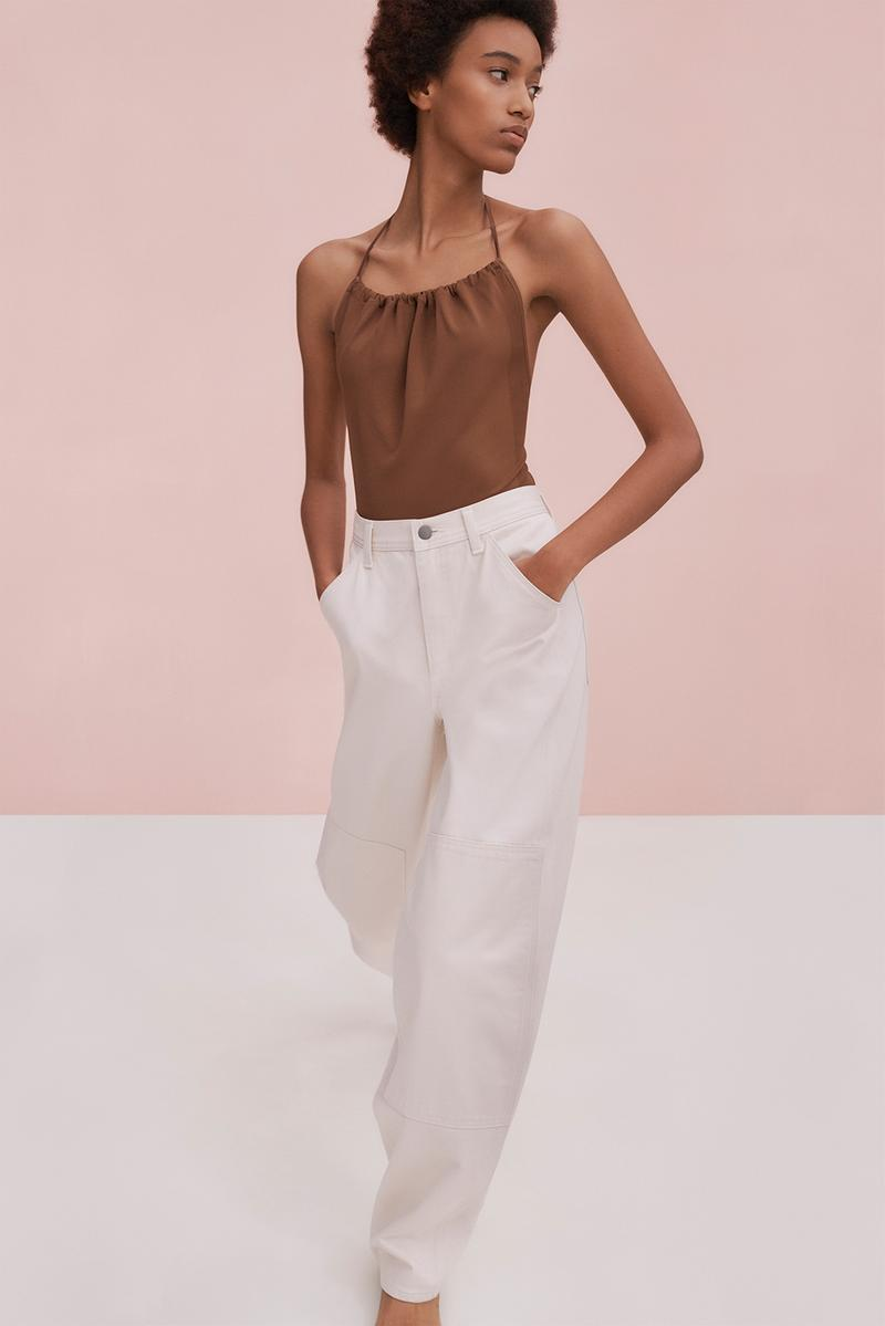 uniqlo u spring summer collection future lifewear essentials minimalist contemporary christophe lemaire blazers pants tank top