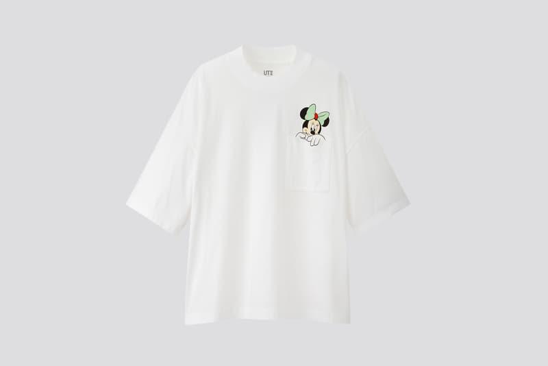 AMBUSH x Disney x Uniqlo UT Minnie Mouse Collection T-Shirt Pocket White