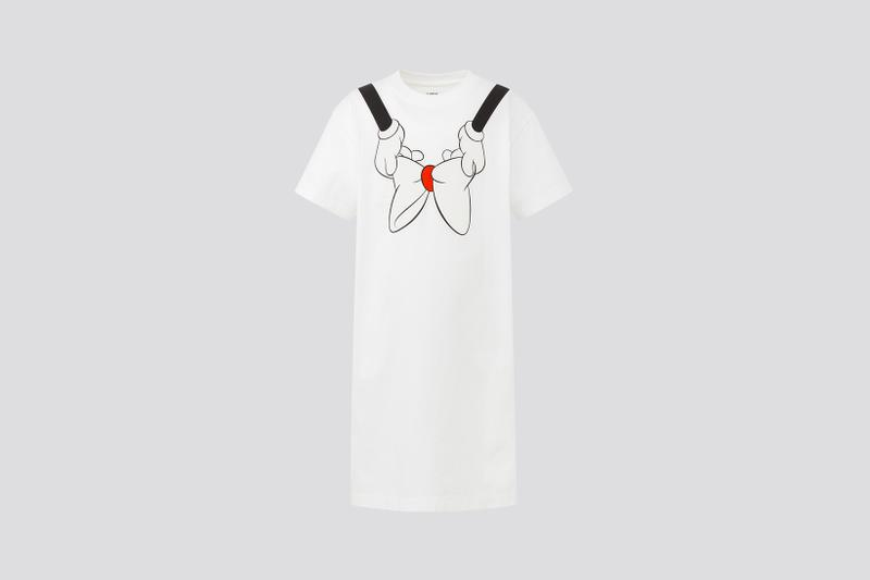 AMBUSH x Disney x Uniqlo UT Minnie Mouse Collection Dress Bow Arms White