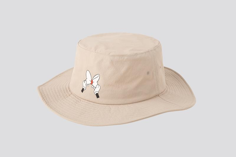 AMBUSH x Disney x Uniqlo UT Minnie Mouse Collection Hat Beige