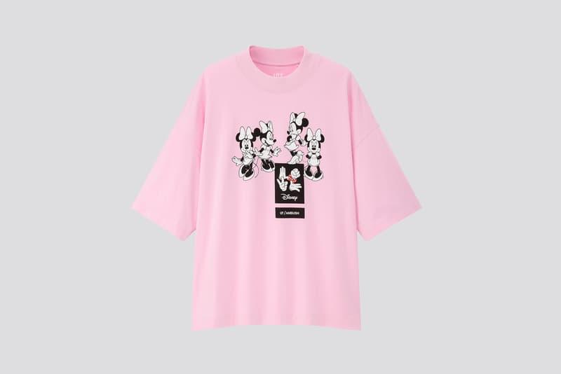 AMBUSH x Disney x Uniqlo UT Minnie Mouse Collection T-Shirt Pink