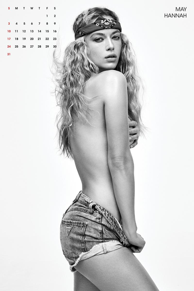 V Magazine 2020 Calendar Hannah Ferguson