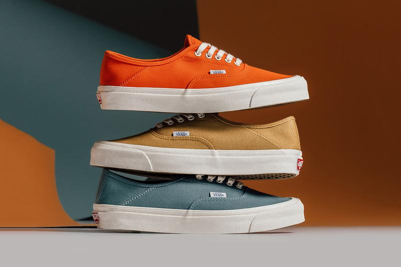 Vans Era Orange Brown Blue