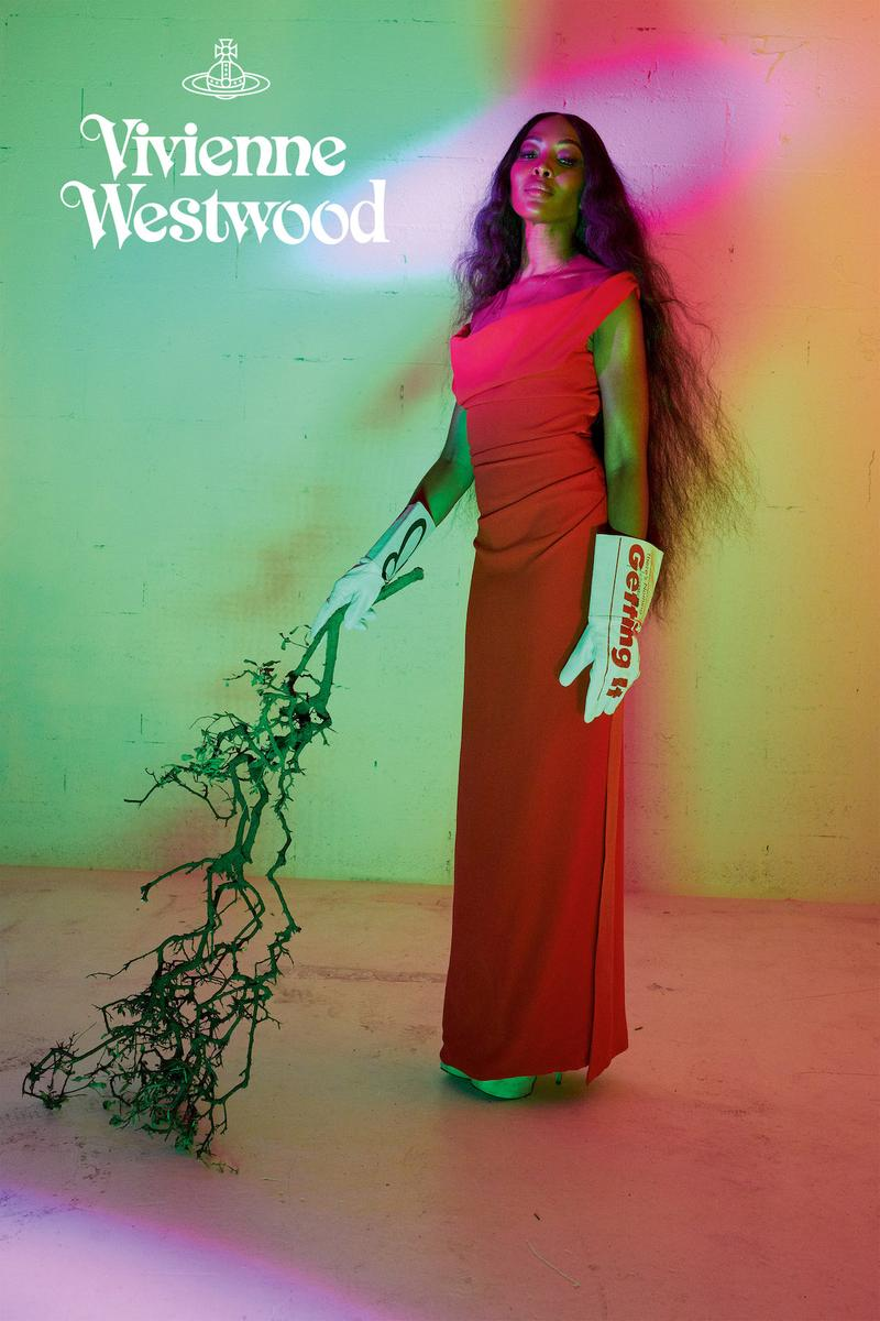Vivienne Westwood Naomi Campbell Spring/Summer Campaign 2020 Juergen Teller