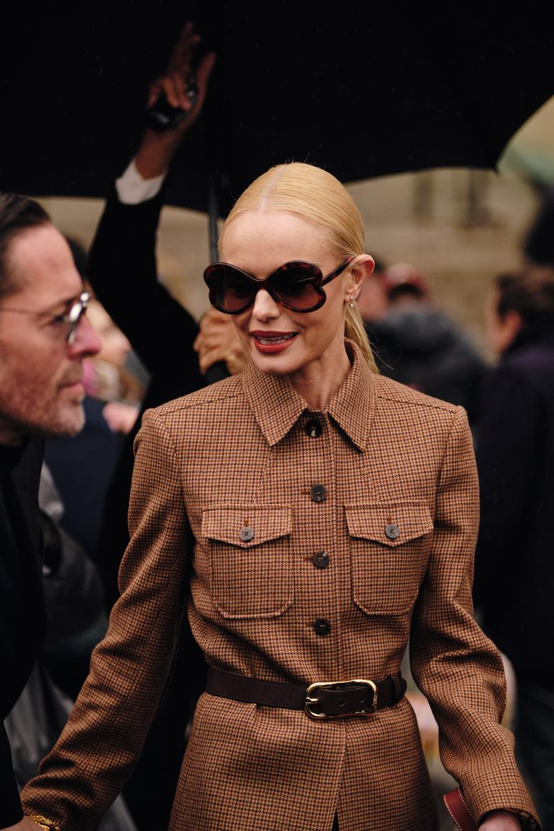 Paris Fashion Week Fall/Winter 2020 Street Style Kate Bosworth