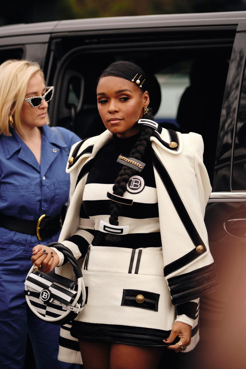Paris Fashion Week Fall/Winter 2020 Street Style Janelle Monae