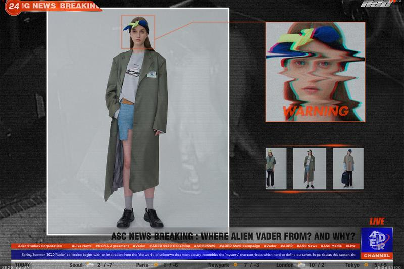 ader error spring summer vader collection space invaders game blazers suits black olive green tshirt shorts pants grey