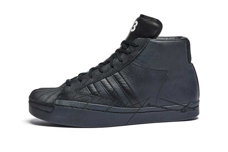 adidas originals y-3 yohji yamamoto superstar pro sneakers collaboration release date