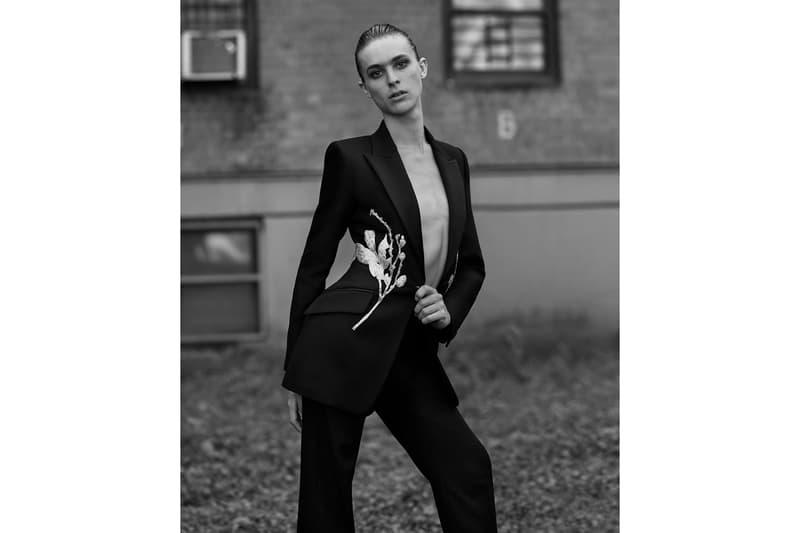 alexander mcqueen ethan james green pre spring summer portraits dara allen torraine futurum sarah burton womenswear photography