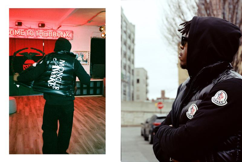 Awake NY x Moncler Collaboration Collection Lookbook Parker Gilet Black