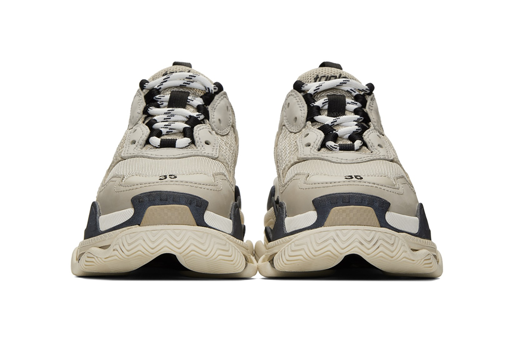 balenciaga sneakers triple s womens off 60%