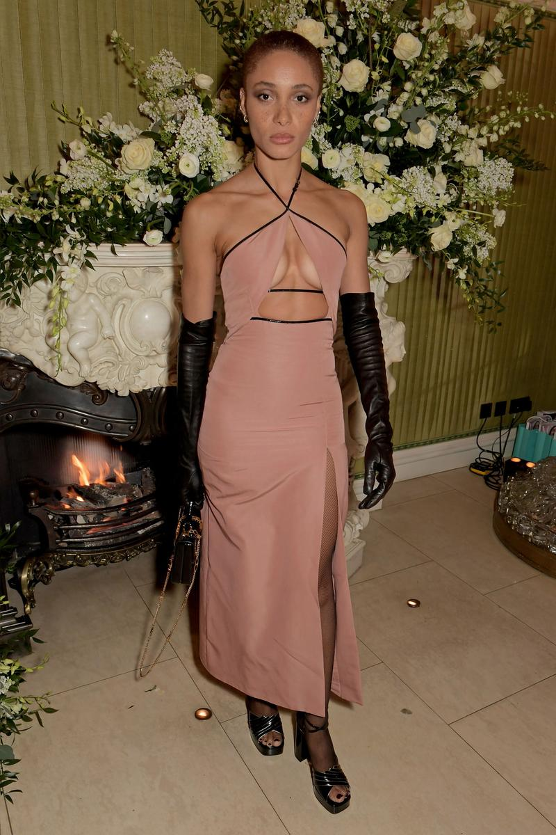 Adwoa Aboah 2020 British Vogue Tiffany & Co. Party