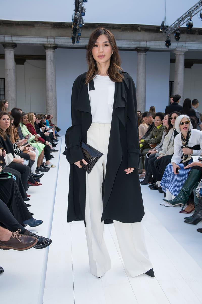 Celebrity Style Milan Fashion Week FW20 Gemma Chan Max Mara